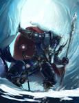 Through the Ice Caves of Dragon Mountain