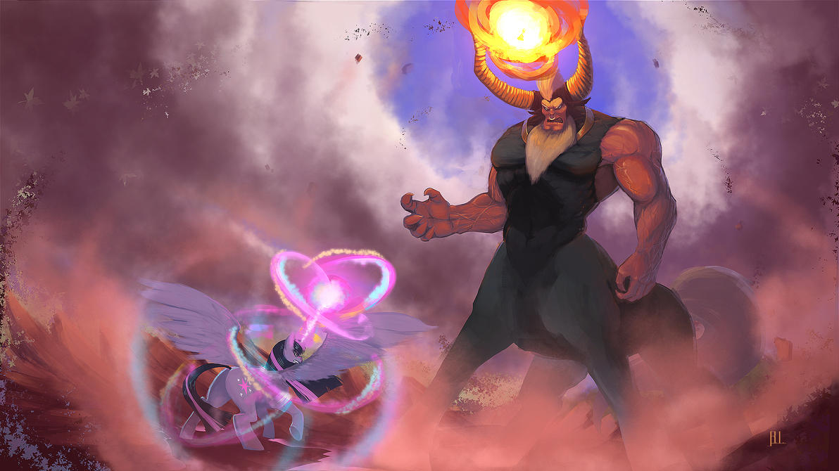 Tirek vs. Twilight by QuizzicalKisses