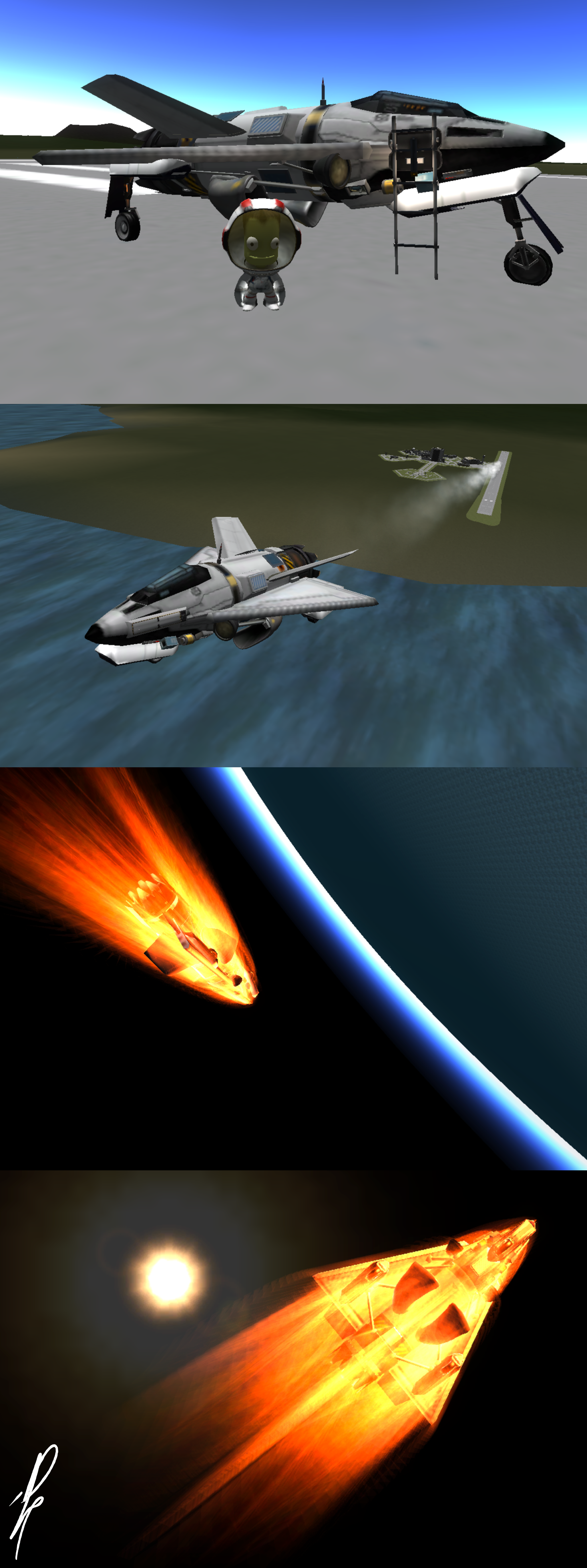 F.A.A Star-Gnat Sub Orbital Interceptor by DJP15