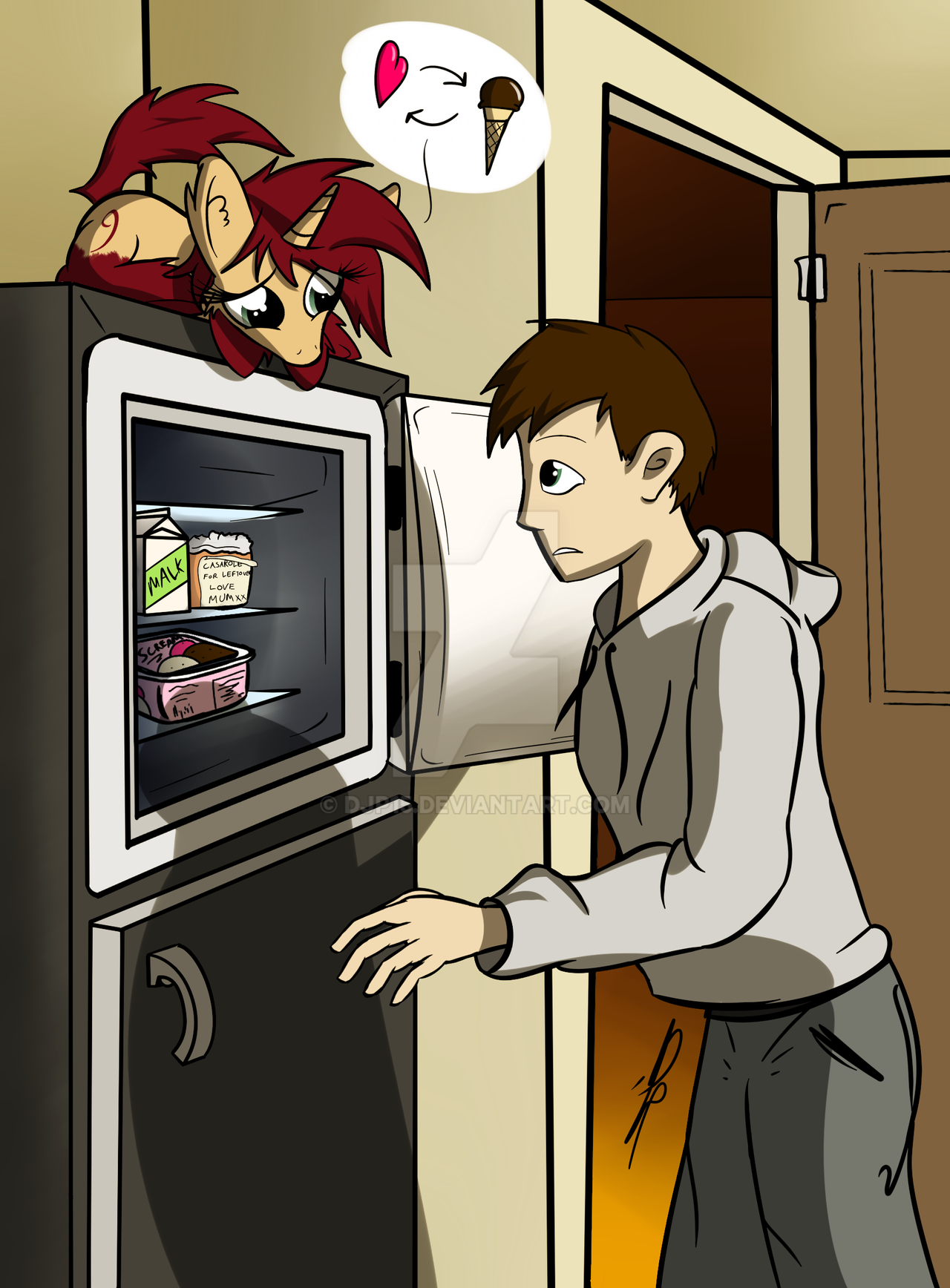 :Commission: Rho-frigerator by DJP15