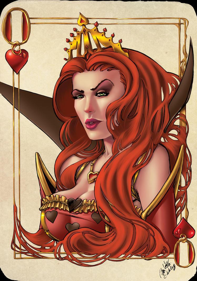 Queen of hearts by Vassya