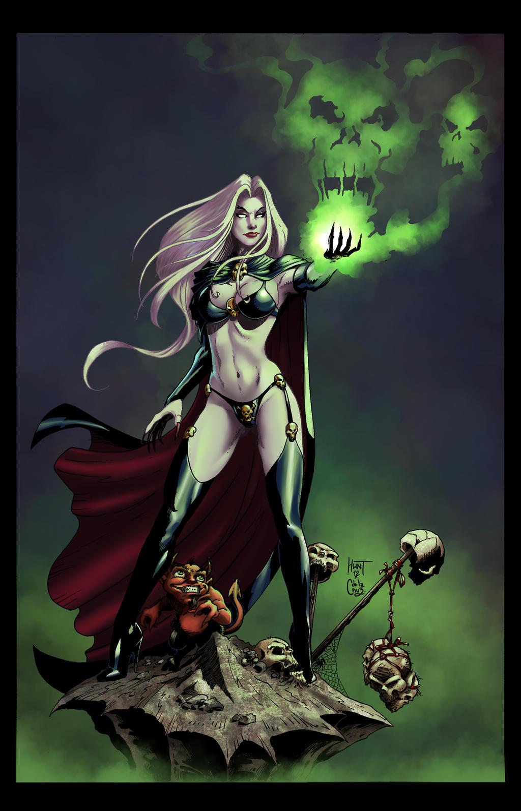 Lady Death by Vassya
