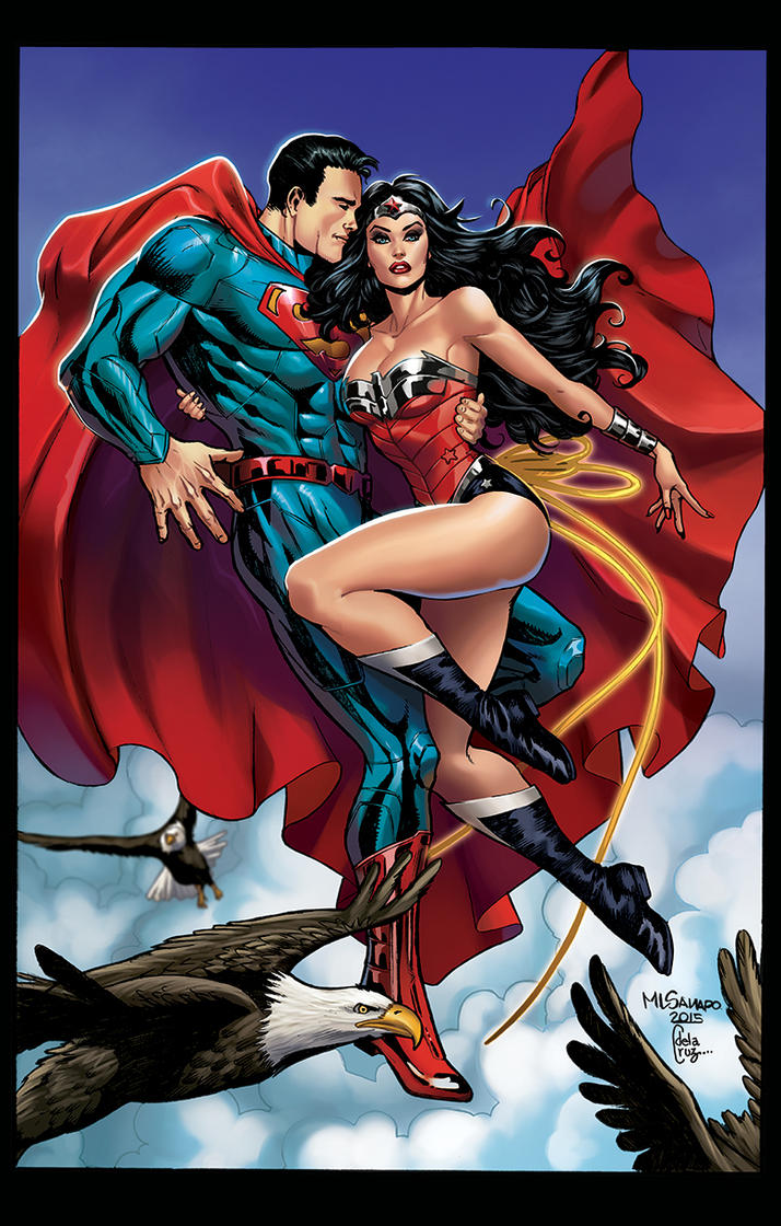 Superman And Wonder Woman By Vassya On Deviantart-8701