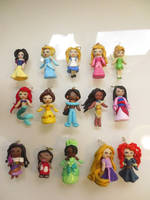 Disney girls charms by b3ttsy