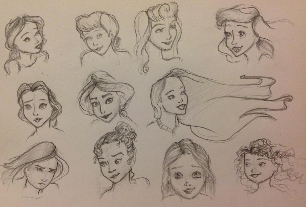 Disney princess study