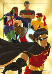Young Justice by sirandal