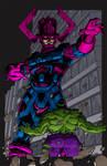 Galactus vs. Hulk