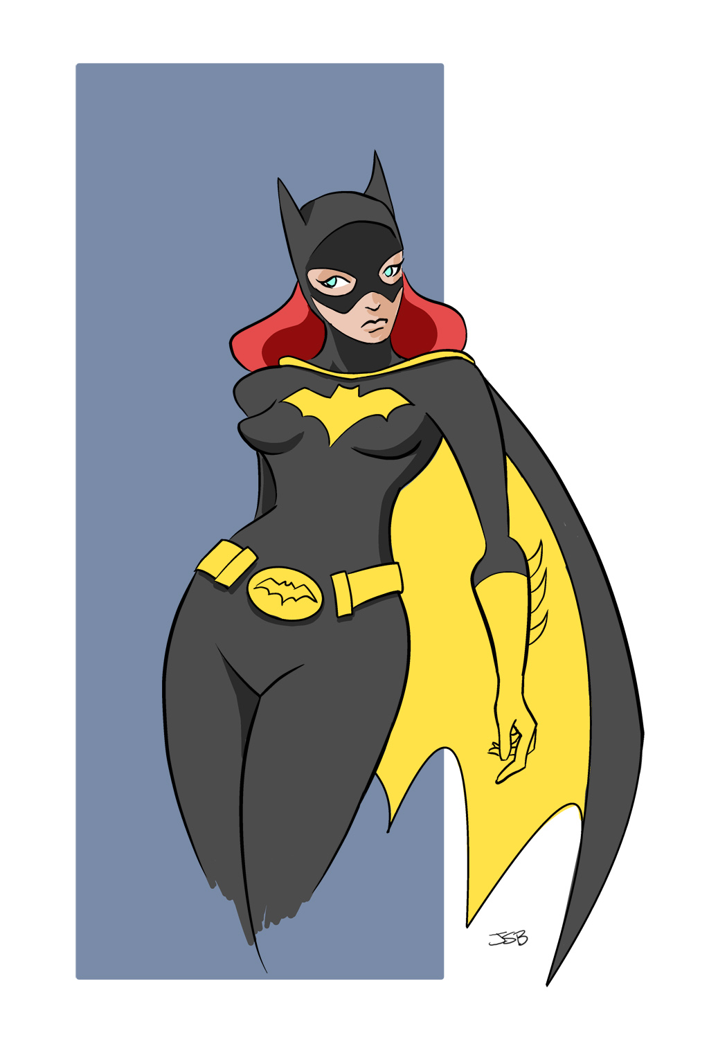 Batgirl Color by sirandal