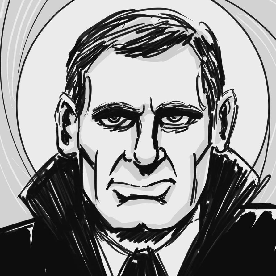 Inktober Daniel Craig Bond by sirandal