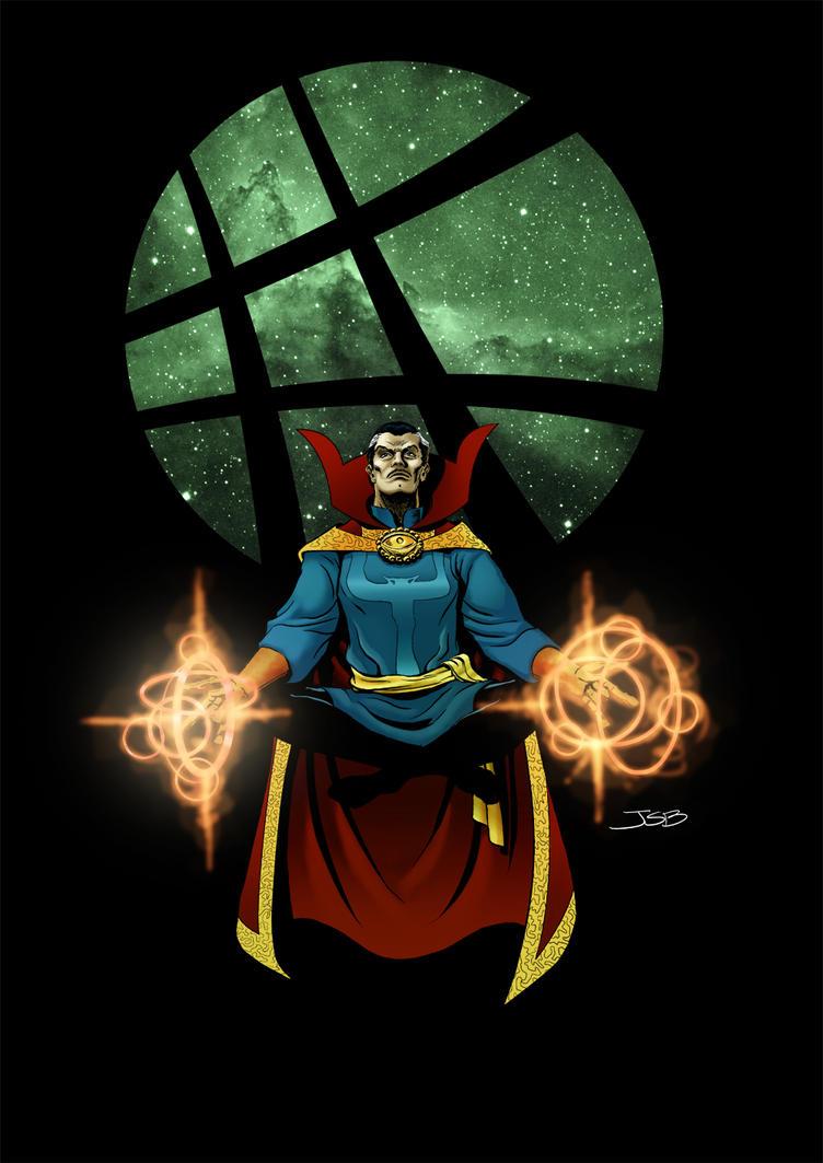 Doctor Strange (color) by sirandal