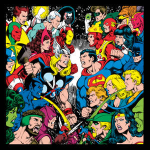 Dalgoda - Perez JLA / Avengers Recreation