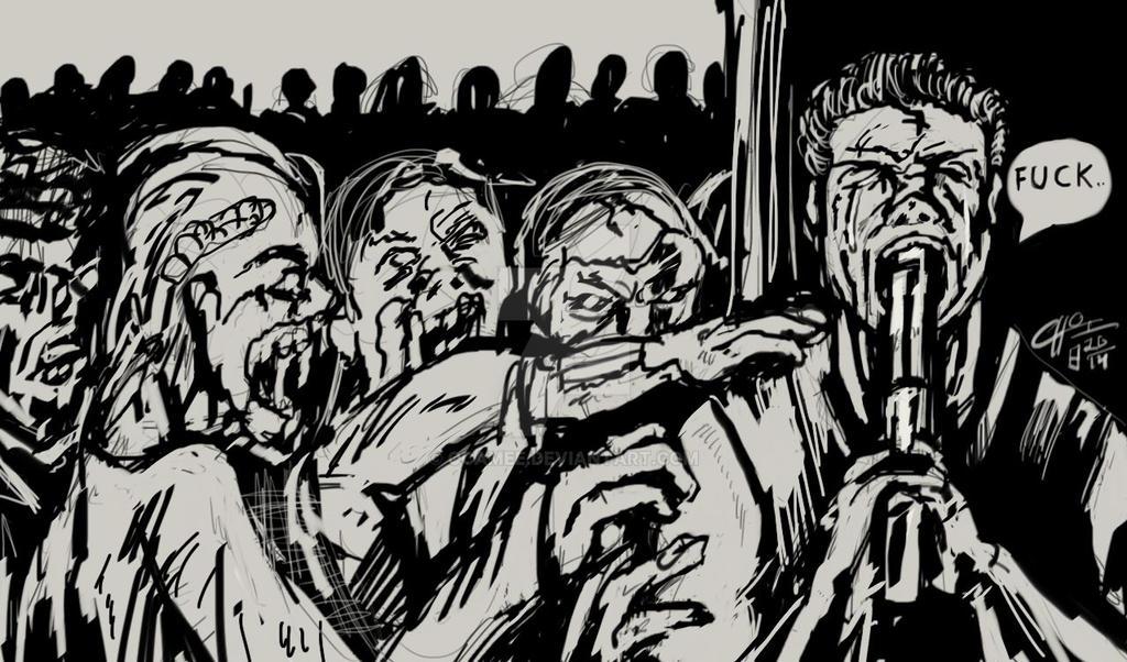 Walking Dead by OcAmee