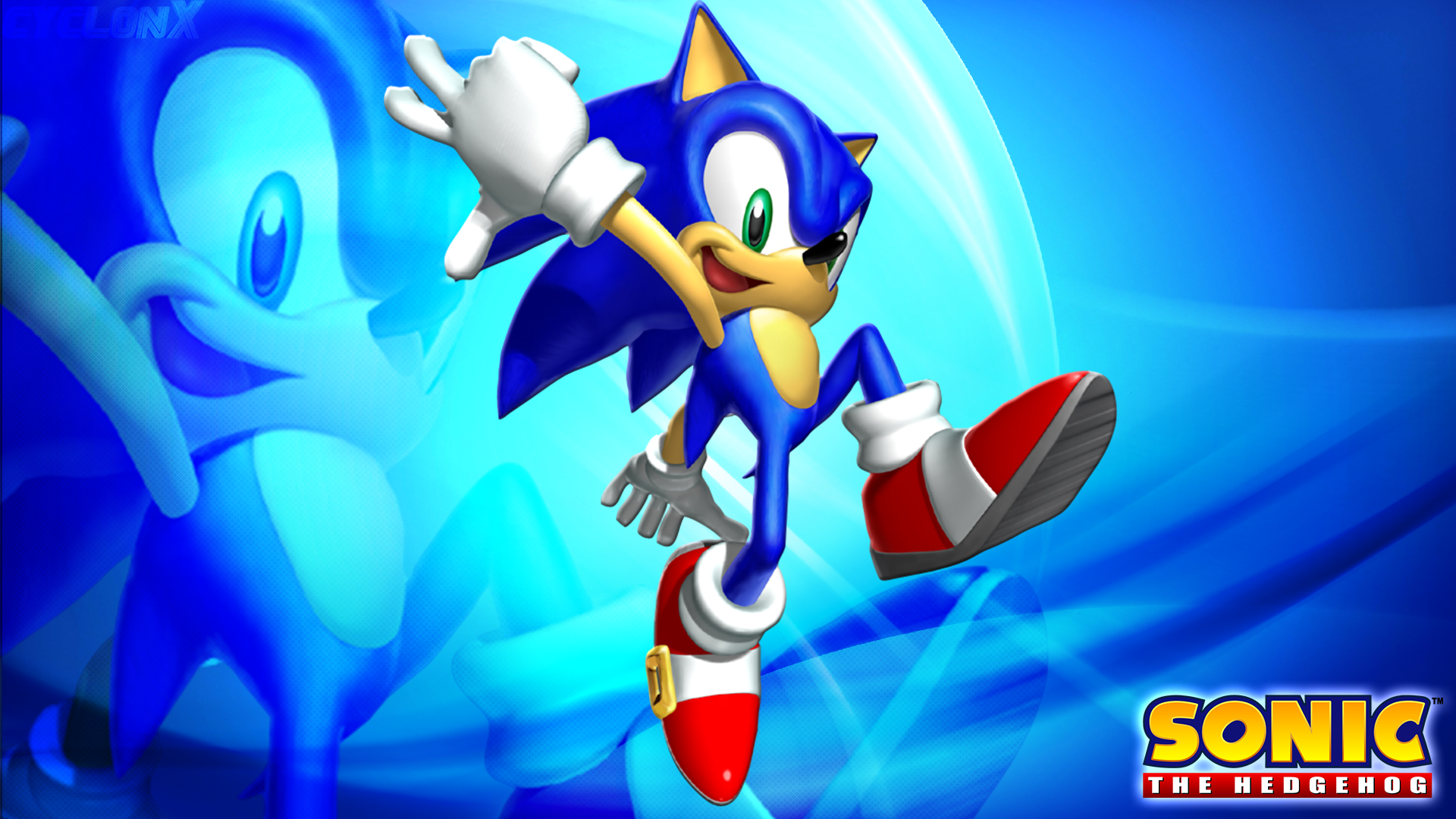 Sonic the Hedgehog Wallpaper by Sonicxhero4 on DeviantArt