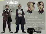 HAGNE CHARACTER REF SHEET