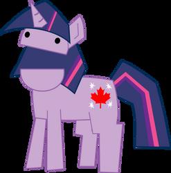 Canadian Twilight Sparkle