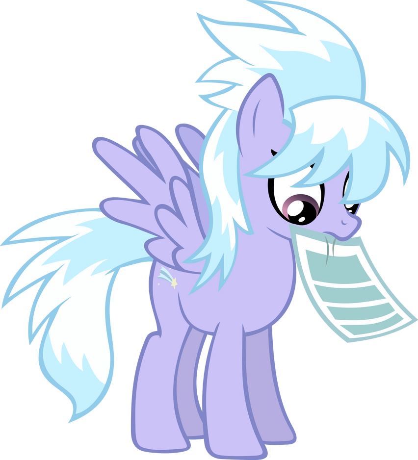 CloudChaser Paper Vector by BakaBrony