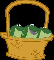 Frog Basket- Vetor