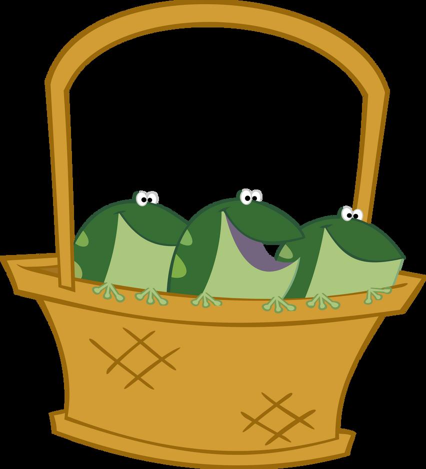frog basket vetor by bakabrony on deviantart rh deviantart com MLP Ghost MLP Rarity