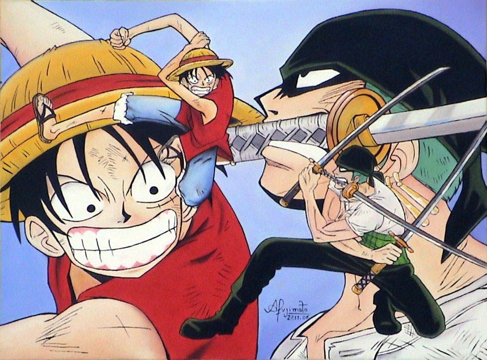 One Piece - Luffy Vs Zoro