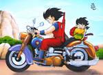 Goku Motorcyclist