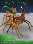 Bambi Winter for Contest by mini-fiddle