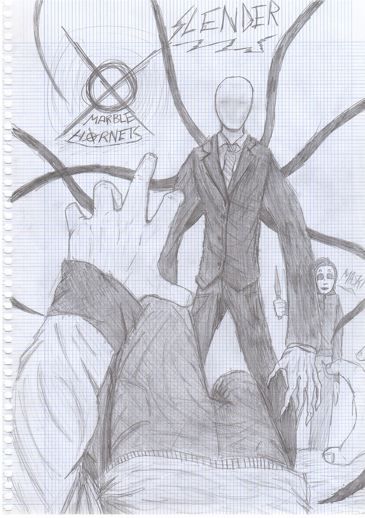 Slender Man Marble Hornets Sightings MARBLE HORNETS-...