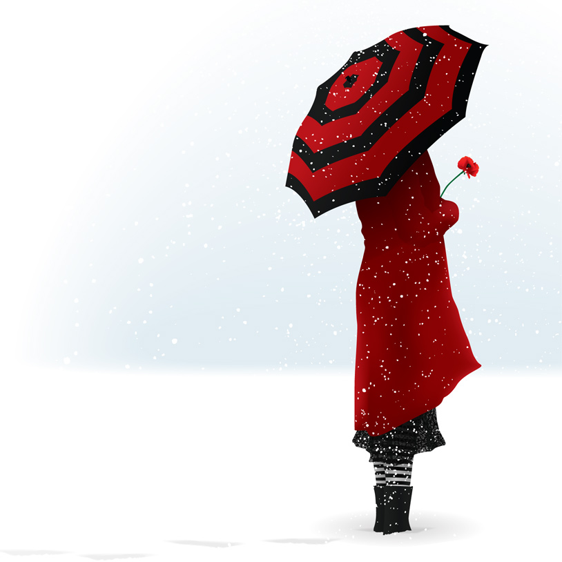 Lady in Red by VermilionTears