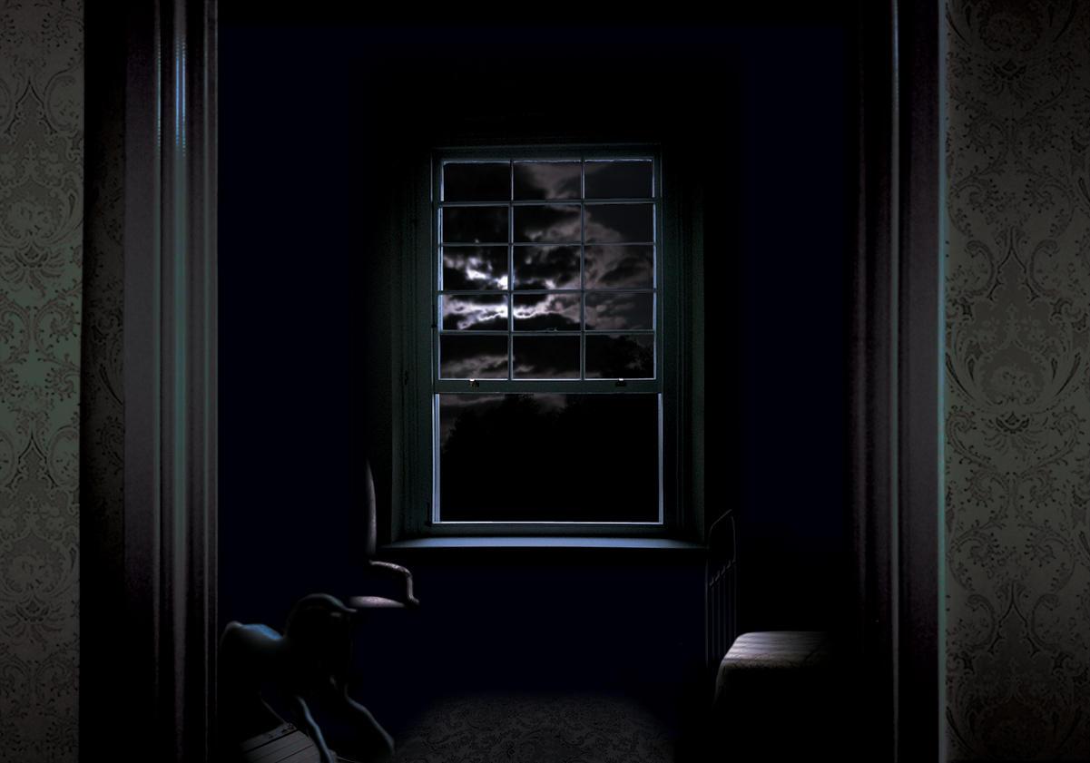 Open window at night -  the open window by vermiliontears