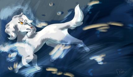 Gwen-Flood  For art trade with Sharkybark by erinsunshine16