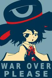 War Over Please by WonderlandSunflower
