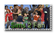Sims 2 Fan Stamp by NutroniC