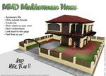 MMD Mediterranean House Stage [DL]