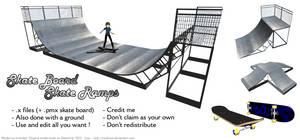 MMD Skate Ramps [DL]