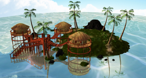 [MMD] Tropical Paradise Stage (DOWLOAD)