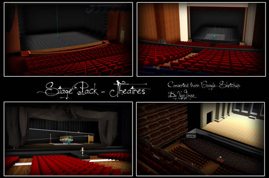 MMD STAGE PACK - 4 Theatre Stages [DL]