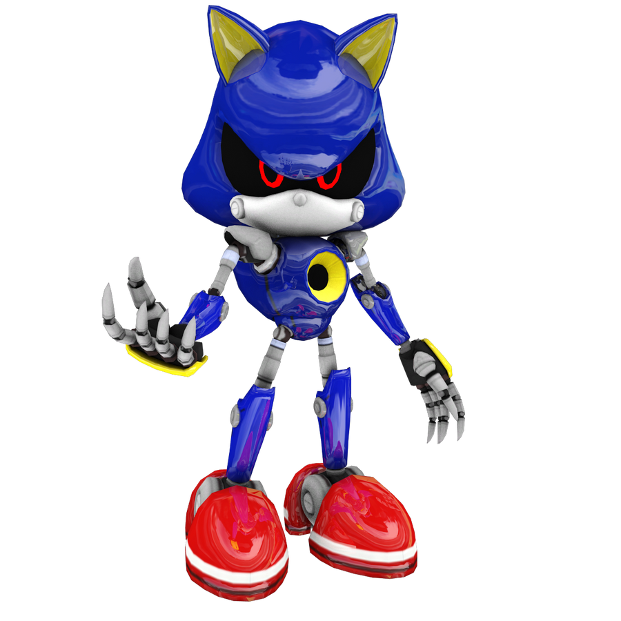 Modern Metal Sonic by Mike9711