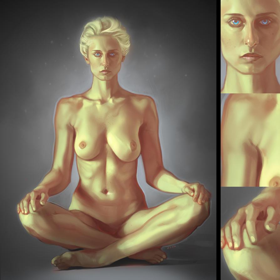 Female Study by bemota
