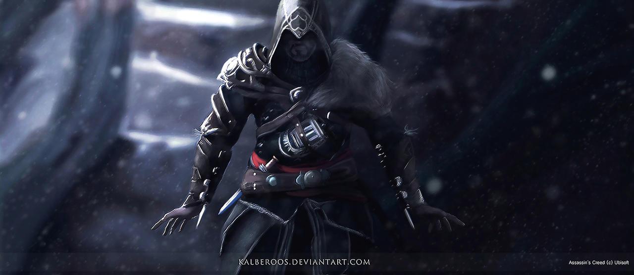 Ezio Auditore Assasin S Creed Revelations Fan Art By