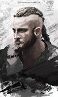 Ragnar Lodbrok by Kalberoos