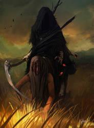 of death messenger by Kalberoos