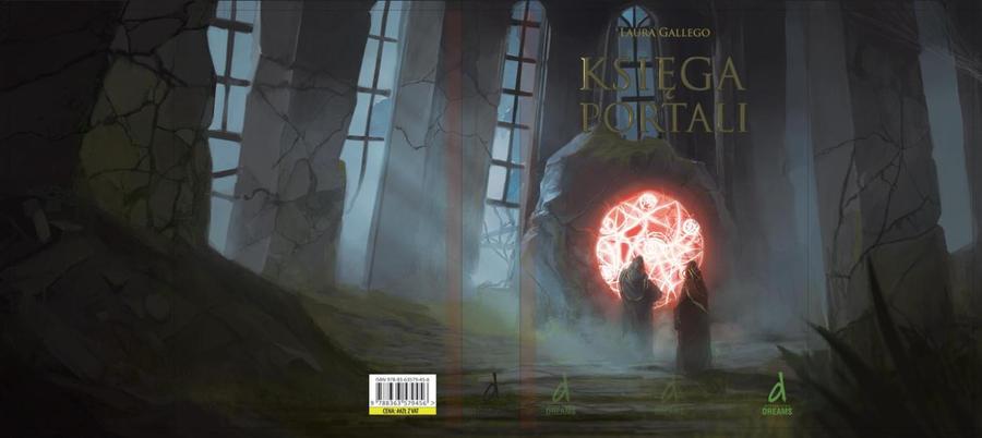 Ksiega Portali Book Cover by Kalberoos
