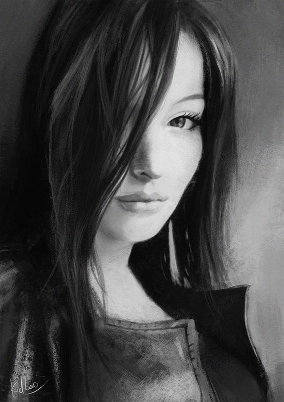 My friend Karolina by Kalberoos