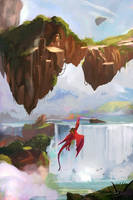 Flying Dragon by Kalberoos