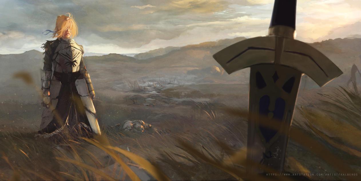 Saber  Excalibur by Kalberoos