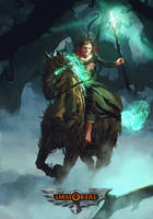 game-o-gami Immortal cyn brien by Kalberoos