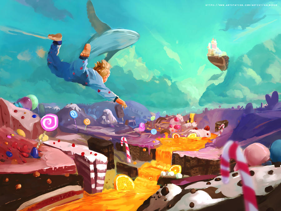 Candy world by Kalberoos on DeviantArt