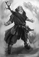 Wizard sketch by Kalberoos