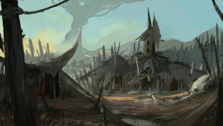 Orc-camp by Kalberoos
