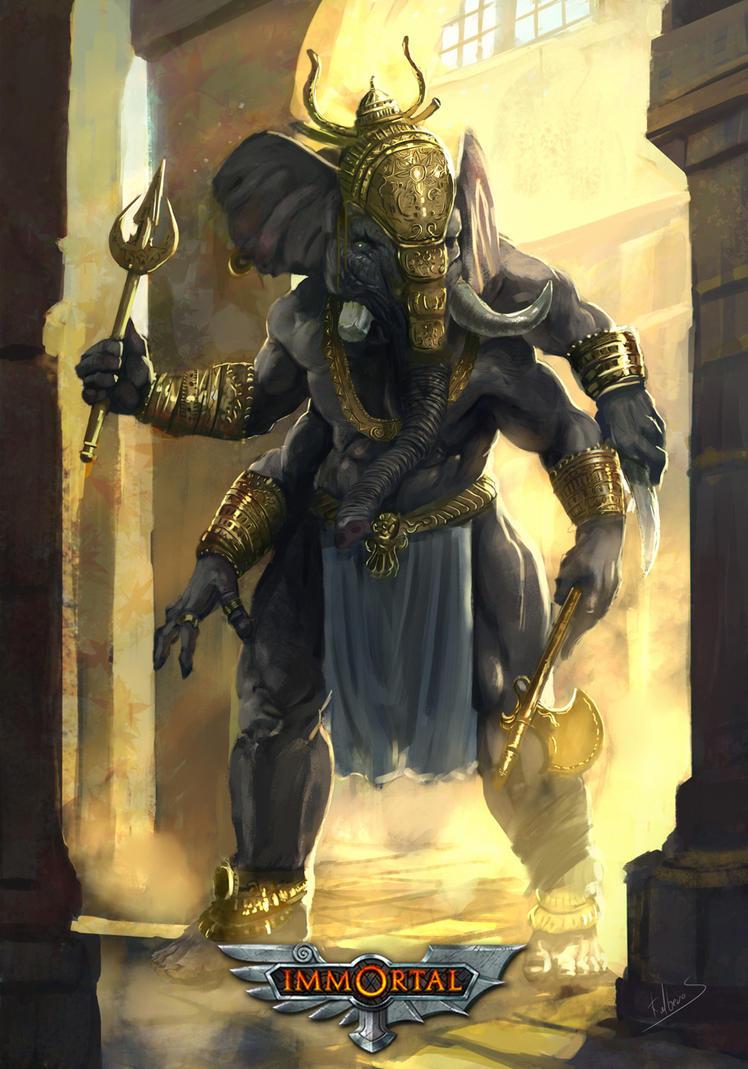 Ganesha by Kalberoos
