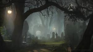 cemetery by Kalberoos